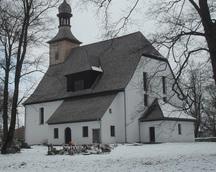 kościół od strony cmentarza