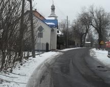 droga przy kościele