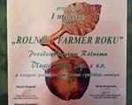 Farmer Roku dla Przedsiębiorstwa Rolnego Długie Stare