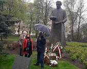1 Maja 2021 pod pomnikiem Ignacego Daszyńskiego w Warszawie