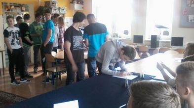 Wybory do SU Gimnazjum