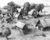 grzegorz_molas_rysunek_wioska