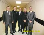 Odznaczeniu członkowie Klubu, wspólnie z Prezesem ogólnopolskiego SHDK RP Tomaszem Ogrodnikiem(po lewej) i Prezesem MK SHDK RP w Piotrkowie Trybunalskim Robertem Szulcem(po prawej)