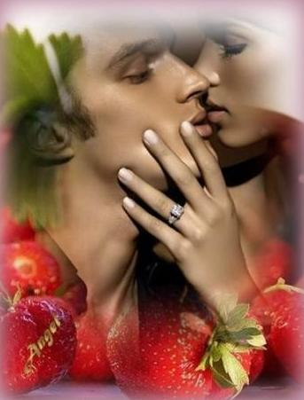 Znalezione obrazy dla zapytania pocalunki pachnace truskawka