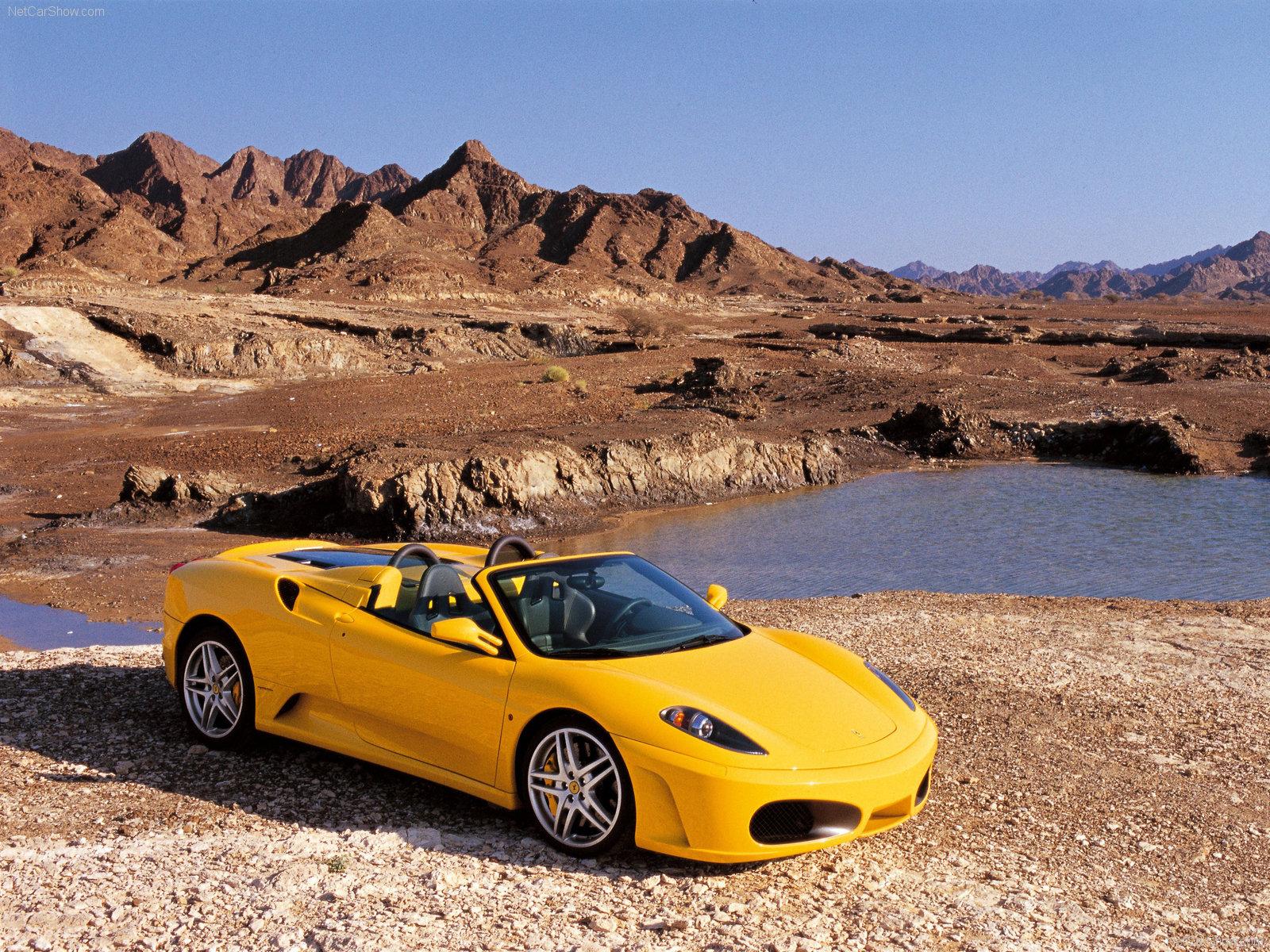 Get Ferrari F430 Spider Yellow Wallpaper  Images
