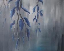 Błękitne pnącze,60x40,24.02.2015r.