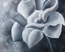 Dusza kwiatu,60x40, 24.12.2014r.
