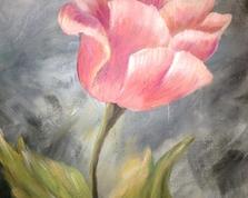 Sweet tulipan, 60x40,25.03.2015r.