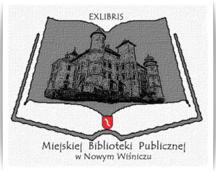 EXLIBRIS Miejskiej Bibliot.Publ.w Nowym Wiśniczu,Op.191, 60 x 90