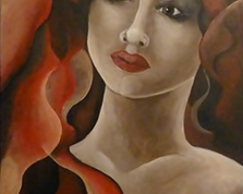 Lady a red, 70x50,12.08.2014r.