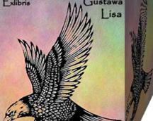 Exlibris Gustawa Lisa, Op.182,90x70