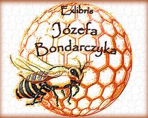 Exlibris Józefa Bondarczyka,Op.170,60x80