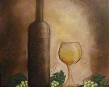 Chardonnay,55x46,26.10.2013r.