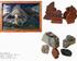 Tkanina i formy ceramiczne pokazane na wystawie w synagodze w Jarosławiu