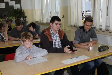 Etap okręgowy - Siennica Nadolna. Drużyna z Gimnazjum Nr 4 w Krasnymstawie - II miejsce w okręgu.