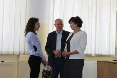 Etap okręgowy - Siennica Nadolna. Julia Ilnicka - zwycięzca wśród uczniów klas III.