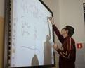 Tablica interaktywna często była w użyciu.