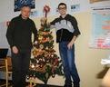 Tuż przed Świętami Bożego Narodzenia też byliśmy w szkole.