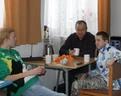 15/12/2012 w przerwach jak zwykle kubek herbatki z cytrynką