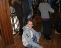 """07/02/2013 Karol w oczekiwaniu na wejście na salę w """"Biskupiaku"""""""