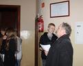 """07/02/2013 Grzesiek w oczekiwaniu na wejście na salę w """"Biskupiaku"""""""