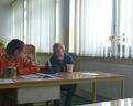 29/09/2012 w przerwie piliśmy herbatkę i był czas na rozmowę o Minecrafcie :)