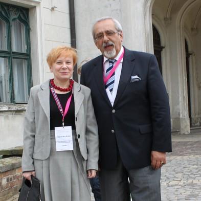Aleksandra Reder i prof. Bogusław Buszewski.