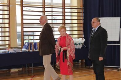 Prof. R.M. Janiuk, Aleksandra Reder i Włodzimierz Kuśmierczuk.