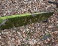 Fragment ogrodzenia pochodzący z kwatery nagrobnej