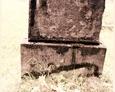 Cmentarz w Kozinie - niemiecki nagrobek