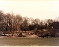 Pozostałości dawnej szkoły w Łebuni