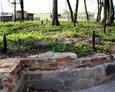 Pozostałości fundamentów kościoła