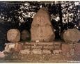 Kamienny obelisk upamiętniający potyczkę pomiędzy wojskami polskimi, a pruskimi z 1807 roku (stan: 17.09.2014r.)