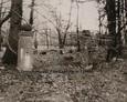Brama cmentarna prowadząca na teren cmentarza ewangelickiego w Szczenurzy
