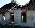 Ruiny domu w Dzięcielcu