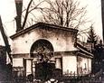 Grobowiec na cmentarzu ewangelickim w Lęborku (1920r.)