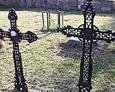 Ażurowe krzyże żeliwne