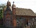 Kaplica grobowa Bach-Żelewskich; rzut oka na wnętrze członkini Stowarzyszenia FotoExploracje Lębork