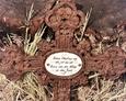 Cewice - odnaleziony krzyż żeliwny