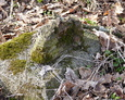 Kamienna podstawa pod krzyż