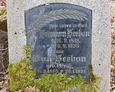 Tablica pochodząca z nagrobka małżeństwa Herbon