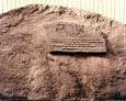 Kamień wraz z inskrypcją pamiątkową, znajdujący się przy ul. Krzywoustego w Lęborku