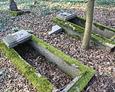 Nagrobki na ewangelickim cmentarzu w Bychowie