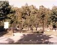 Cewice - współczesna brama prowadząca na cmentarz