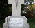 Nagrobek żołnierza poległego w I wojnie światowej