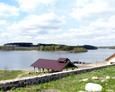 Widok na Jezioro Borzyszkowskie