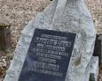 Kamień nagrobny małżeństwa Bock