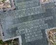 Krzyż granitowy należący do rodziny Piotraschke