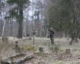 Eksploracja niemieckiego cmentarza w Żarnowskiej