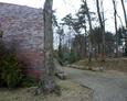 Ogólny widok na teren nieistniejącego dziś cmentarza ewangelickiego w Choczewie